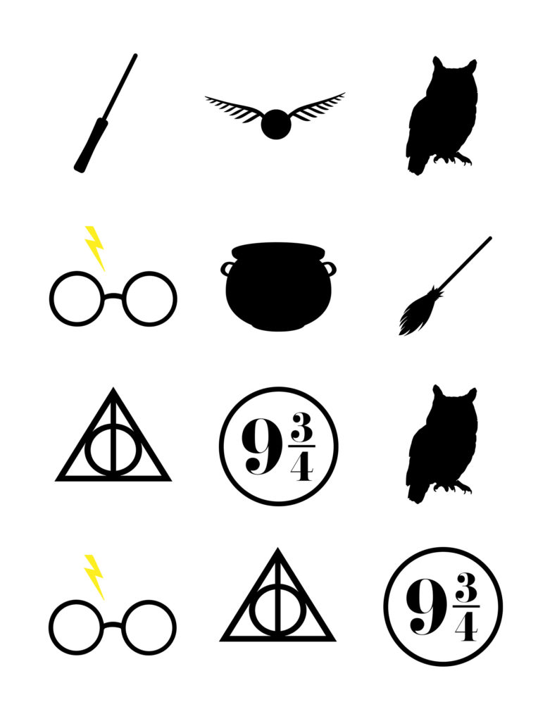 Harry Potter Baby Shower Games - Our Handcrafted Life