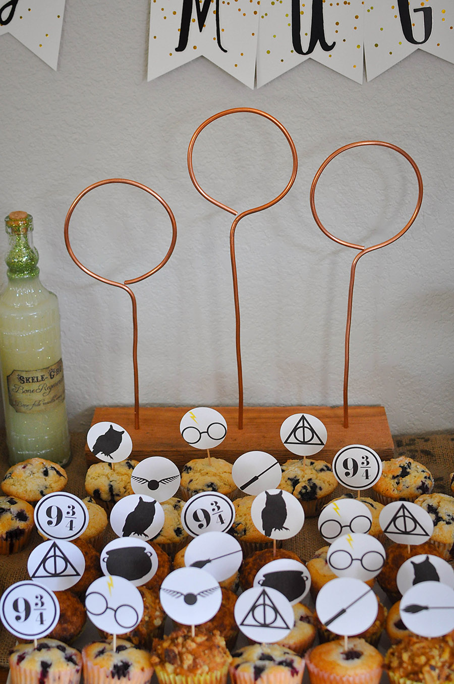 Harry Potter Baby Shower Ideas Free Printables Our Handcrafted Life