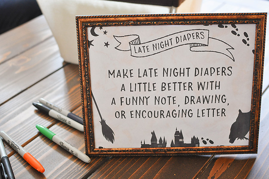 How to Plan a Harry Potter Baby Shower - Our Handcrafted Life