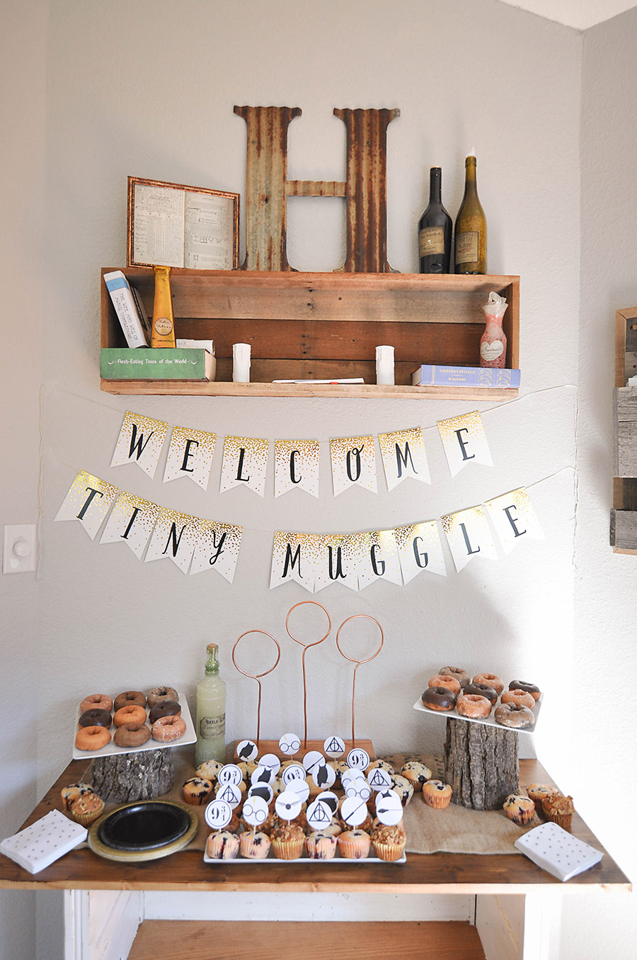 Harry Potter Baby Shower Ideas & Free Printables - Our Handcrafted Life