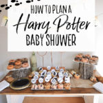 Harry Potter Baby Shower - Our Handcrafted Life