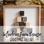 DIY Modern Farmhouse Christmas Decor