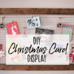 DIY Chicken Wire Christmas Card Holder