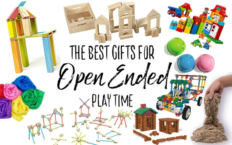 The Best Gift Ideas for Open Ended Play for Kids - Our Handcrafted Life