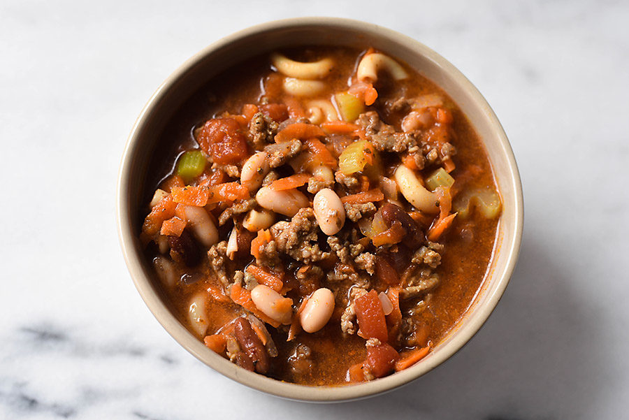 Pasta e Fagioli Recipe One Pot Hearty Weeknight Soup | Our Handcrafted Life