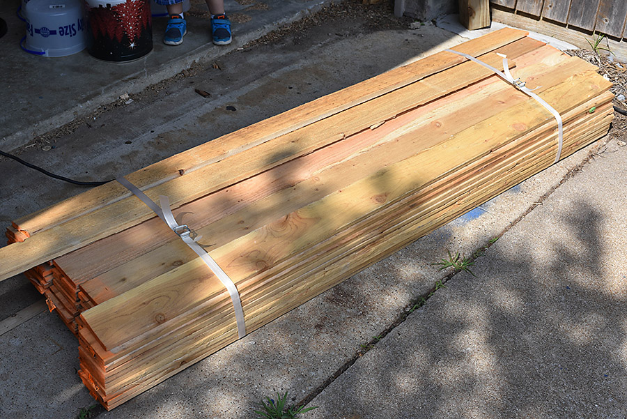 DIY Outdoor Storage Bench   Backyard Box With Hidden Storage   Our  Handcrafted Life