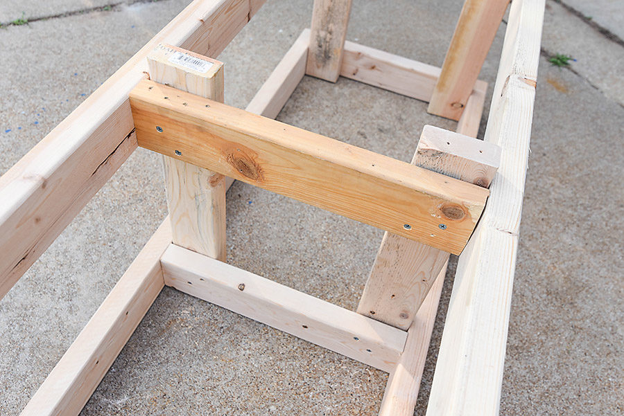 How to Make an Outdoor Storage Bench - Our Handcrafted Life