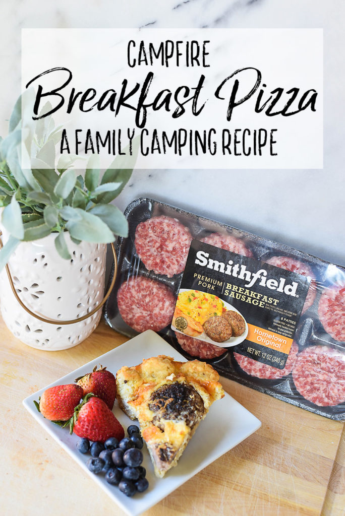 Campfire Breakfast Pizza - Our Handcrafted Life