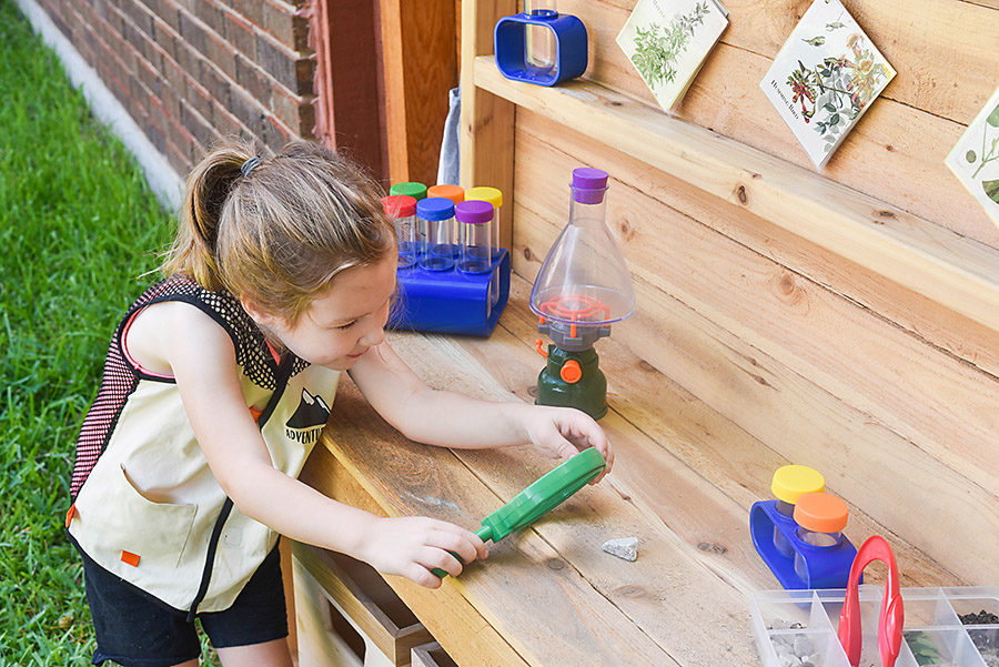 Outdoor STEM Station Outdoor Science Discovery Center - Our Handcrafted Life