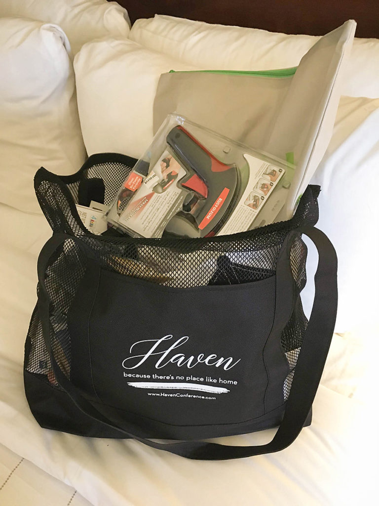 Haven Swag Bag - Haven Conference 2018 - Our Handcrafted Life