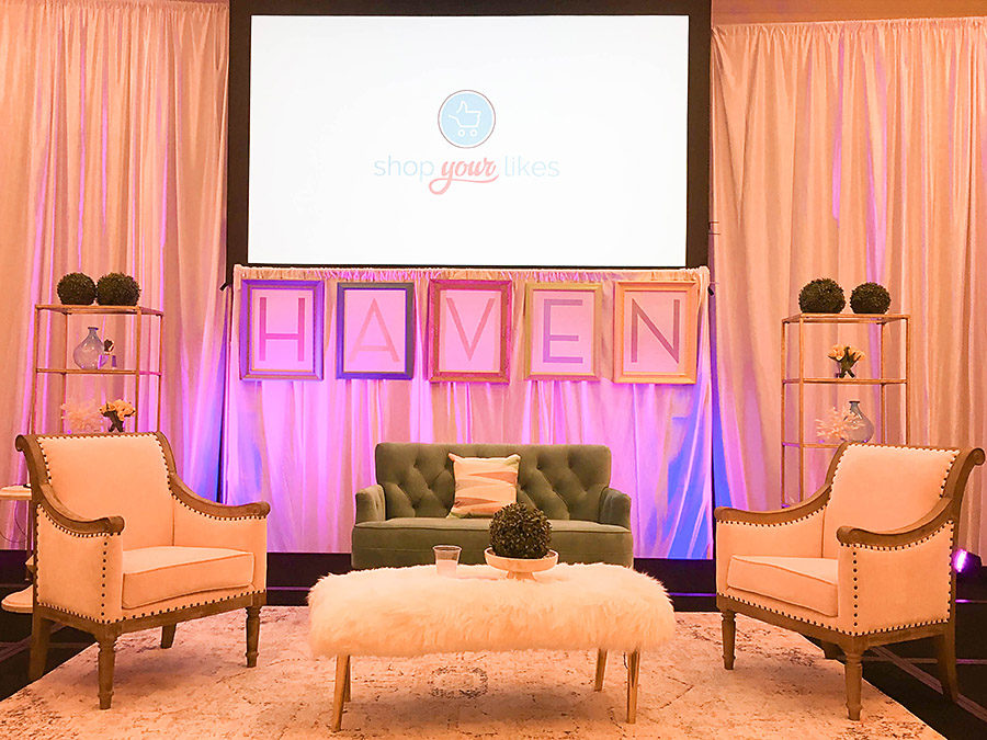 Stage - Haven Conference 2018 - Our Handcrafted Life