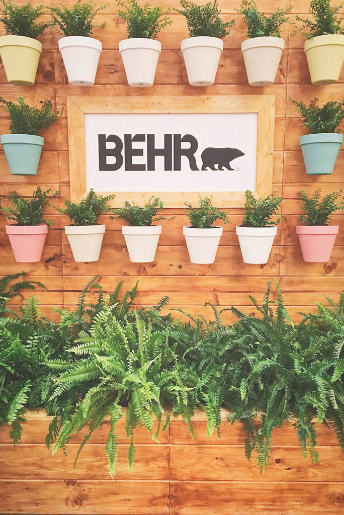 Behr Paint Brand Booth - Haven Conference 2018 - Our Handcrafted Life
