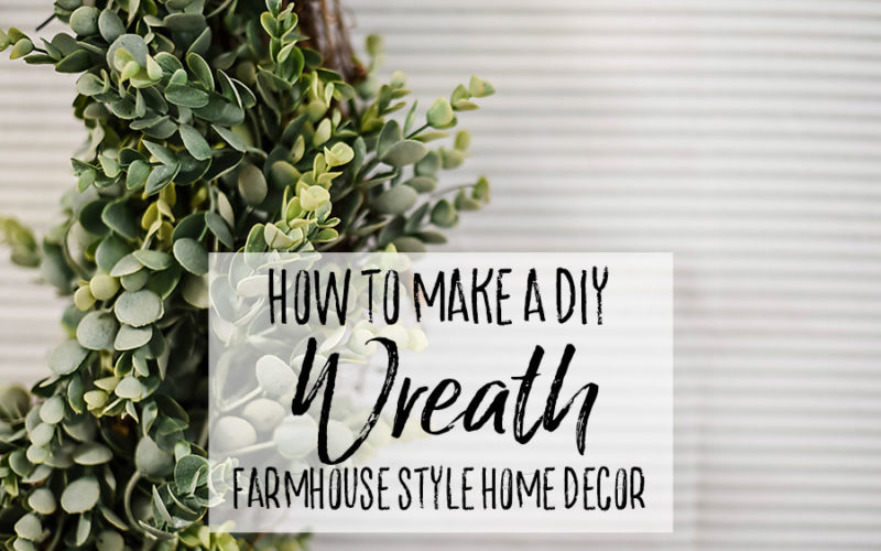 The Easiest DIY Wreath Ever (+ Turn it into Giant Wall Decor)