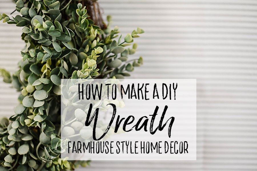 The Easiest DIY Wreath Ever (+ Turn it into Giant Wall Decor) - Our ...