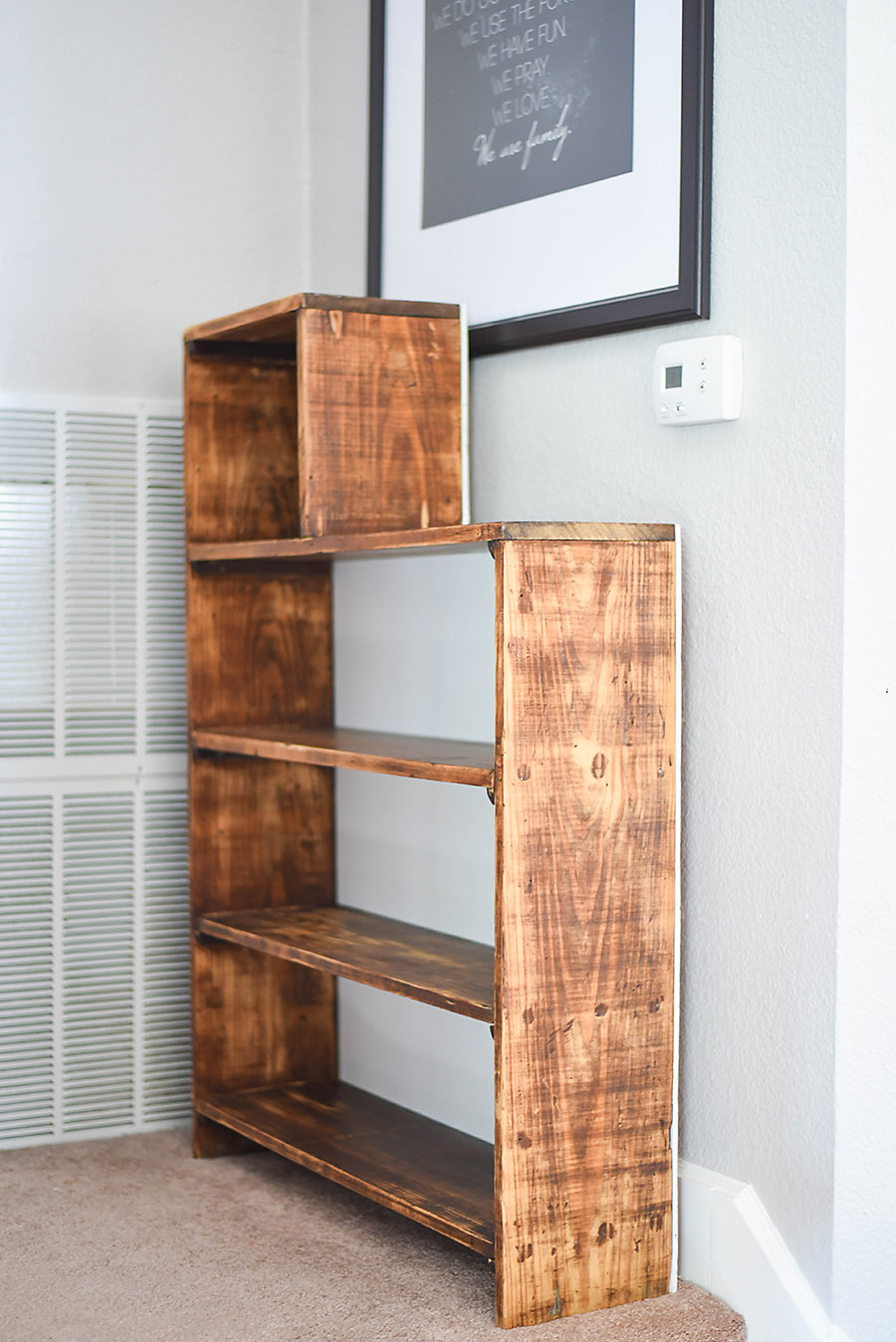 Before And After How To Refurbish An Old Bookcase