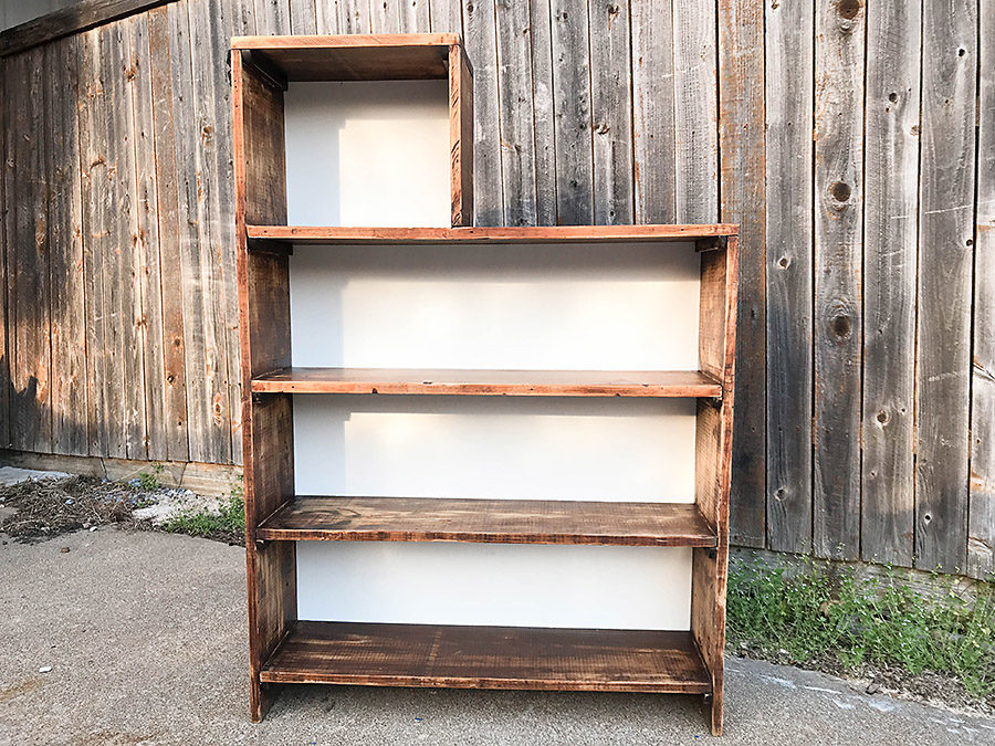 How to Refurbish an Old Bookcase - Our Handcrafted Life