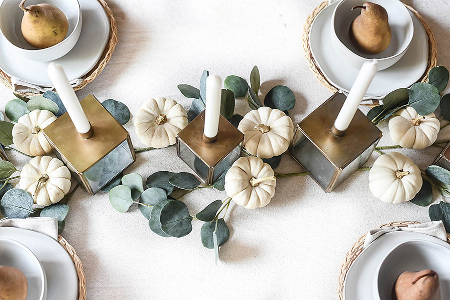 Casual and Neutral Fall Table Style - Our Handcrafted Life