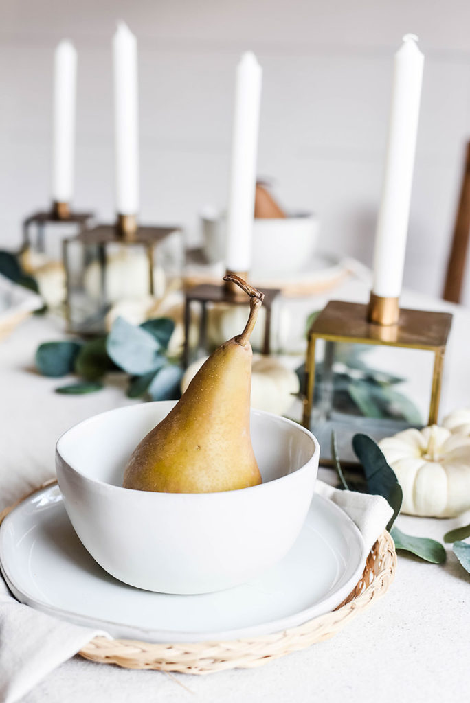 Casual, Neutral Fall Table Style - Our Handcrafted Life