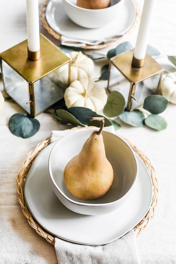 How to Create a Neutral Fall Table Style - Our Handcrafted Life