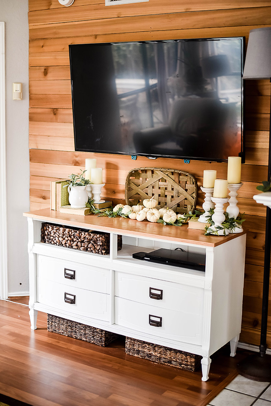 How To Turn A Dresser Into Tv Stand