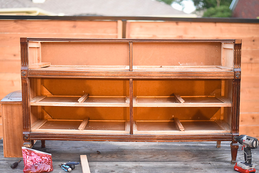 How To Turn A Dresser Into A Tv Stand Our Handcrafted Life