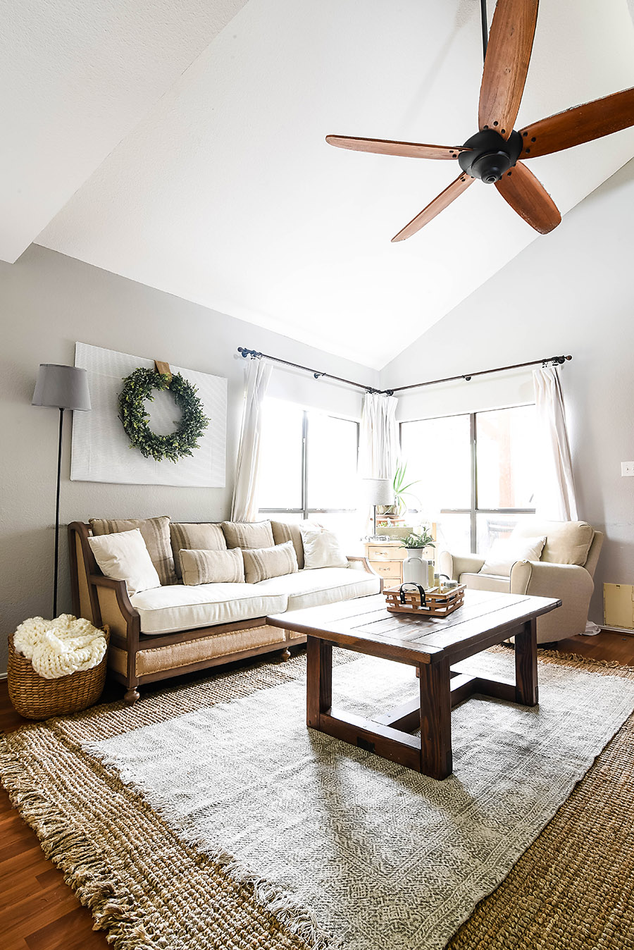 Belgian Country Living Room Makeover Reveal - One Room ...