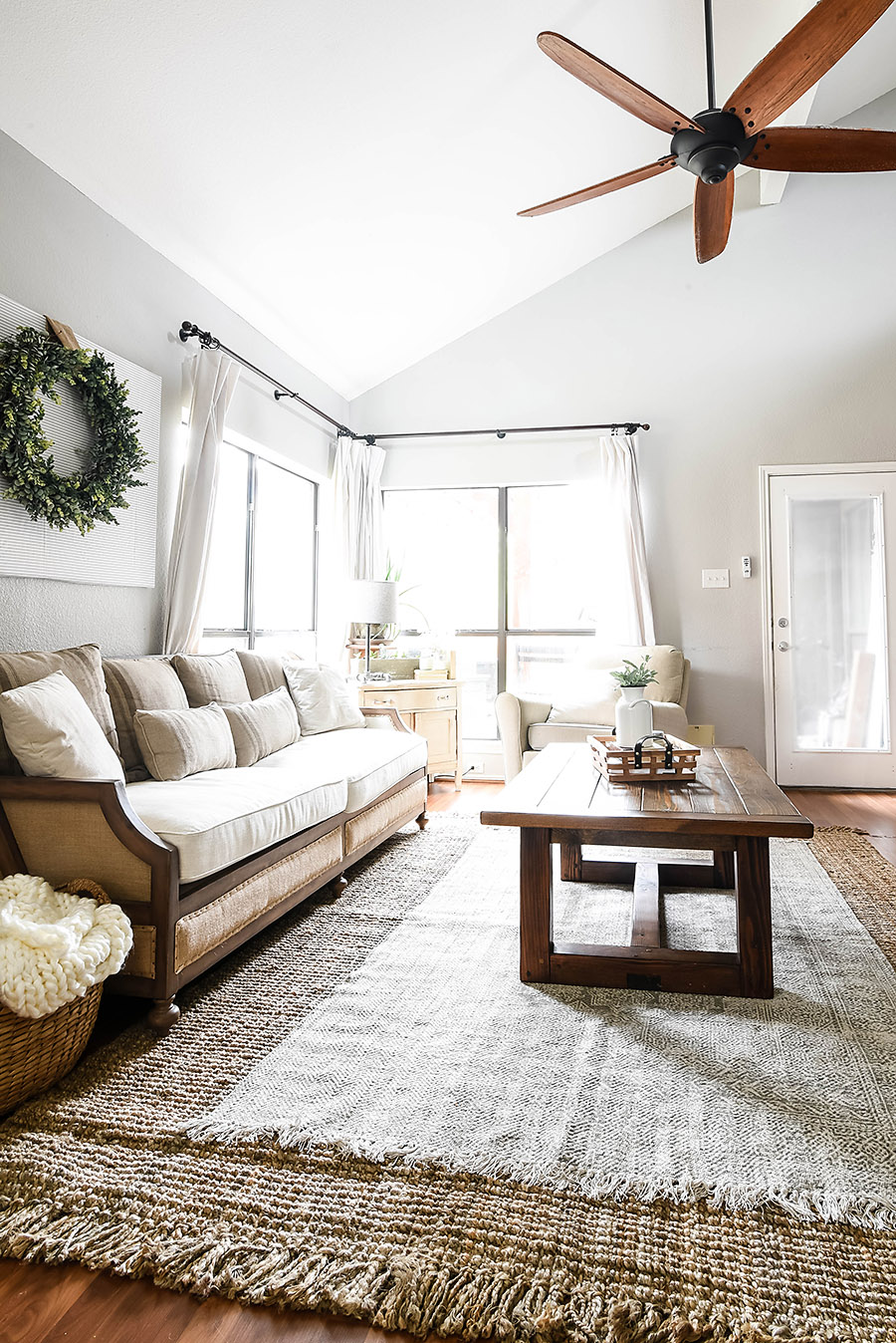 Belgian Country Living Room Makeover Reveal One Room