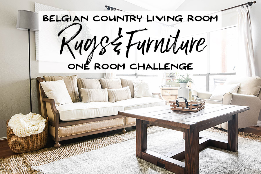 one room challenge week 3 living room rugs and furniture our