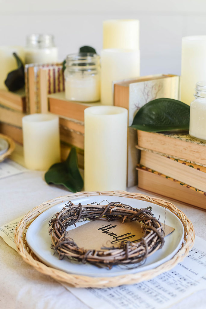 Thanksgiving Tablescape Style - Our Handcrafted Life