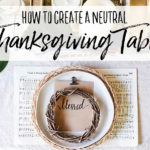 How to Create a Cozy Thanksgiving Table Style
