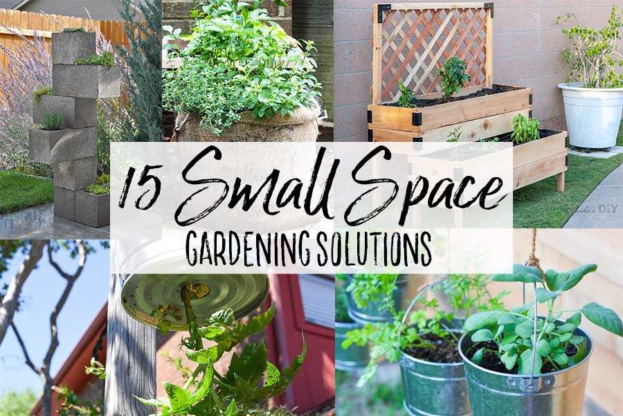 15 Diy Small Space Gardening Solutions Our Handcrafted Life,Bedroom Small One Room Apartment Design Ideas