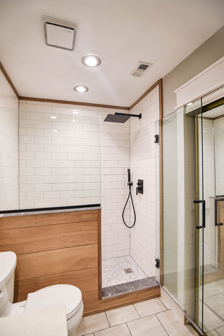 Master Bathroom Renovation - Converting a Bathtub into a Walk In