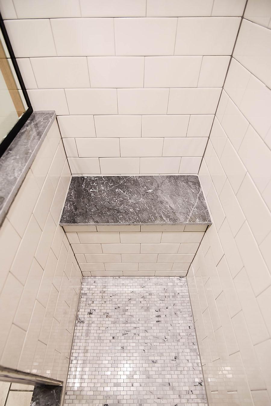 Master Bathroom Renovation Converting A Bathtub Into A