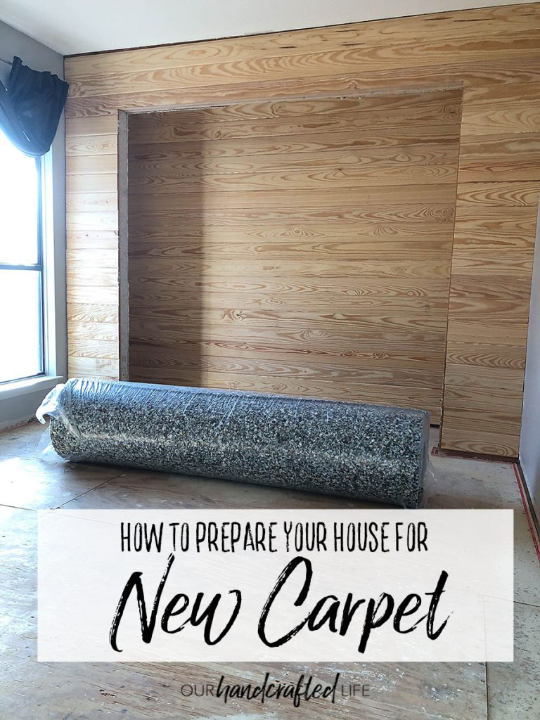 How to Prepare Your House for New Carpet