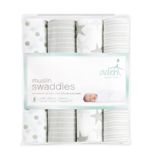 What a Third Time Mom Puts on a Baby Registry Must Haves - Aden and Anias Swaddle Blankets