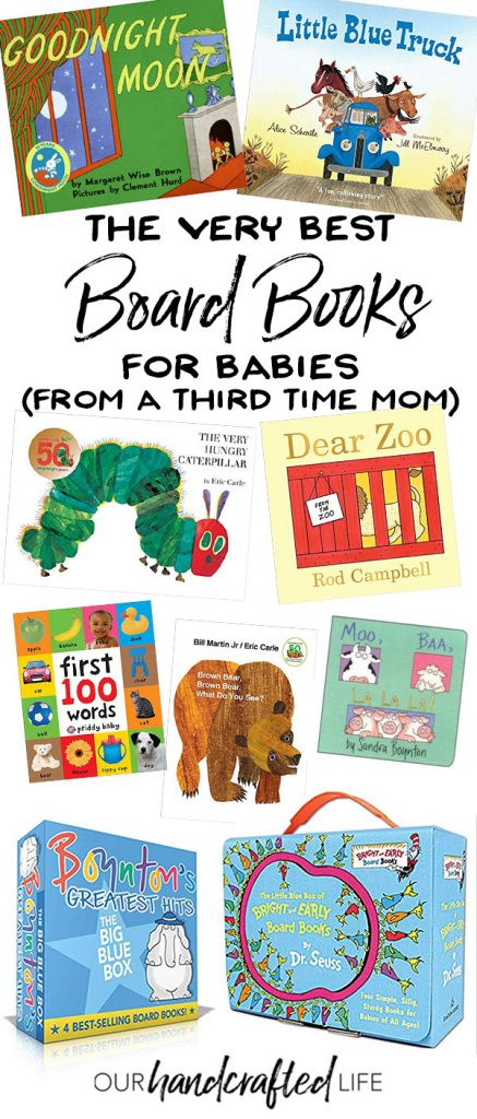 The Best Board Books for Babies - Our Handcrafted Life
