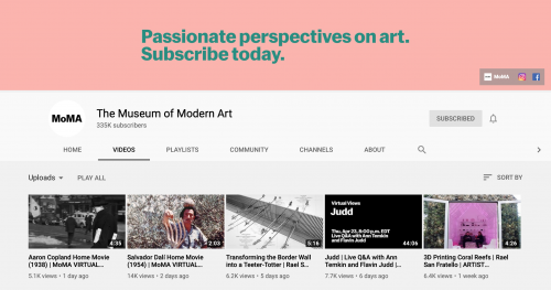 The Best Educational YouTube Channels - MoMA