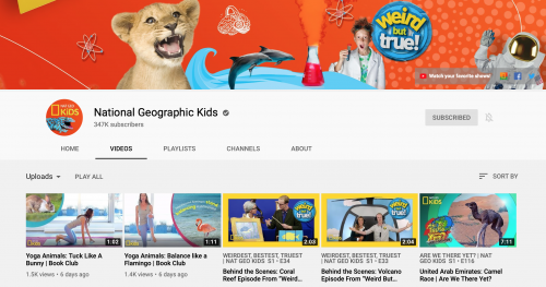The Best Educational YouTube Channels - National Geographic Kids