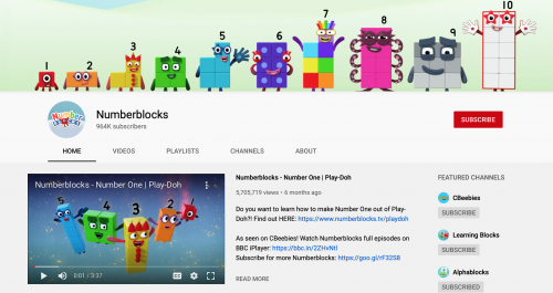 The Best Educational YouTube Channels - Numberblocks