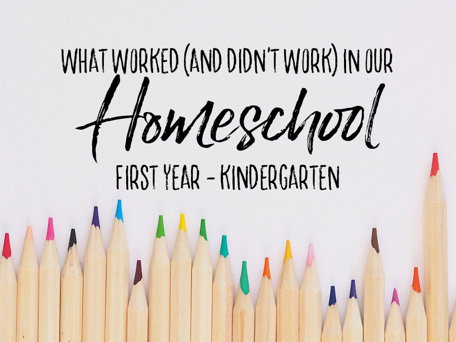 What Worked in Our First Year of Homeschool Header