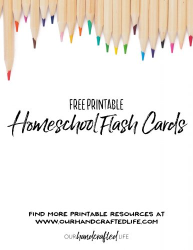 Free Printable Flash Cards for Kids
