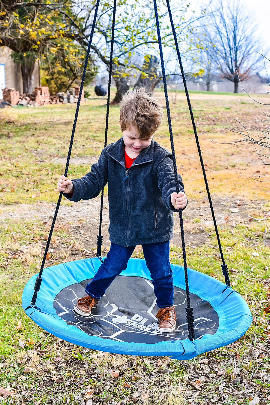 Tree Swing - Simple Toys Gift Ideas - Intentional Purposeful Gift Guide for Kids - Our Handcrafted Life