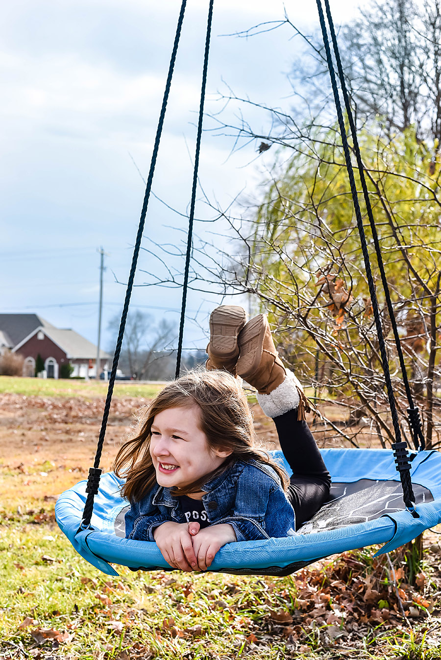 Play Wild Tree Swing - Simple Toys Gift Ideas - Intentional Purposeful Gift Guide for Kids - Our Handcrafted Life