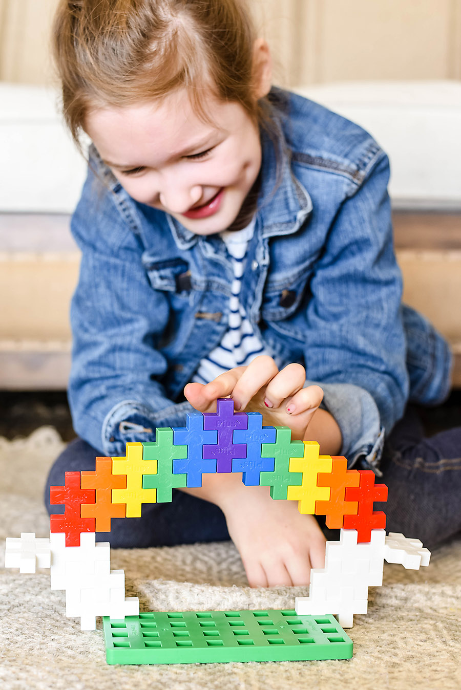 Plus Plus Big Learn to Build Set - Simple Toys Gift Ideas - Intentional Purposeful Gift Guide for Kids - Our Handcrafted Life