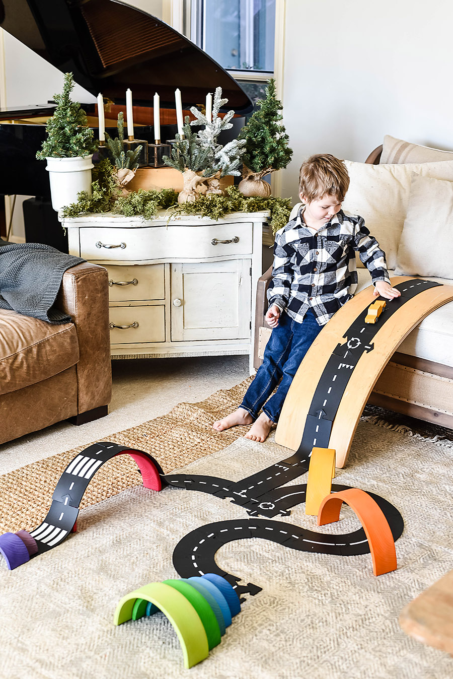 WaytoPlay Flexible Road - Simple Toys Gift Ideas - Intentional Purposeful Gift Guide for Kids - Our Handcrafted Life