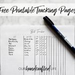 Budget Tracking Pages - Easy Goal Setting Trackers - Gentle January - Our Handcrafted Life Header